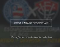 Post para redes sociais - 1ª Opção Bar