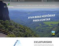 Layout Design Agência de Turismo
