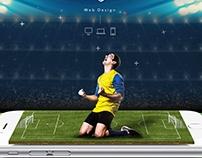 Soccer App - Website