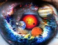There´s a universe in your eyes.
