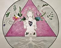 Alquimia en vos ~ Logo para Proyecto de Astrología