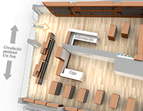 Library furniture design - Libreria UN las nieves