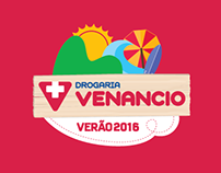 Visual Identity / Summer Campaign / Drogaria Venancio