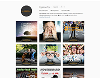 Gestão de mídias sociais - Loja Laserfox