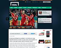 Análisis fútbol alemán para Goal.com