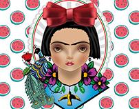 Ilustraciones Frida Kahlo