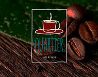 Café Quartier Bocetos Logotipos