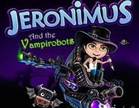 """Portada para videojuego casual """"Jeronimus"""""""