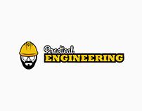 Practical Engineering - logo design
