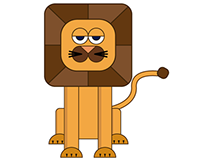 gif: the bored lion