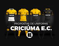 SOCCER KIT // Criciúma Esporte Clube.