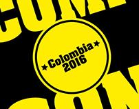 Logo Comic Con Colombia (Propuesta)