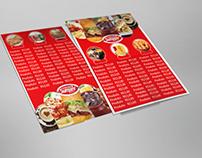 Cardápio para Restaurante