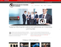 Extradicion Colombia - Wordpress Site