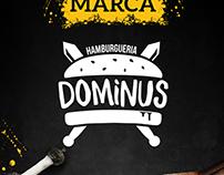 DOMINUS - Marca/Campanha de inauguração