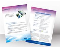 Ficha Técnica de produtos Syspro