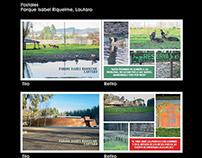 Postales Parque Isabel Riquelme, Lautaro
