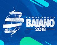 Identidade Visual Chamadas Campeonato Baiano 2018