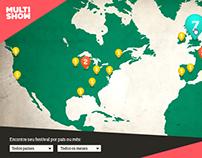 Infográfico Multishow - Globosat