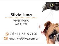 Tarjetas y folletos para veterinaria