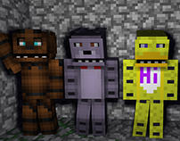 Minebuilder | Five Nights at Freddy's 4 | MBMOD