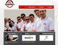 Site Auto Escola DirijaBem