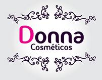 Logo Donna Cosméticos