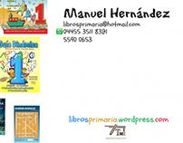 Tarjeta de presentación para distribuidora de libros