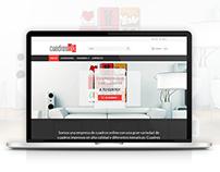 Diseño de Sitio Web - Cuadros OK