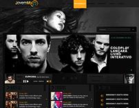 Layout Rádio Jovem Mix