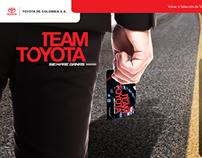 Web - TeamToyota Card