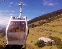 Teleférico . Quito- Ecuador