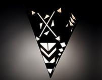Luminária Triangular