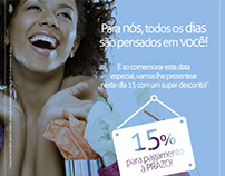 Campanha Dia do Cliente Calçados Paraná