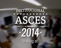 Making of - Vídeo Asces Institucional 2014