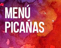 Menú Picañas