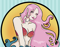 Sirena rosa