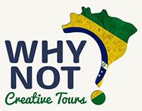 Branding e site Agência Why Not Brasil