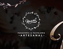 Naana -Panadería & Pastelería Artesanal- Brand Design