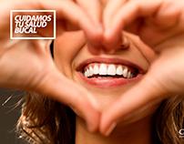 Piezas para Redes Sociales de consultorio odontológico