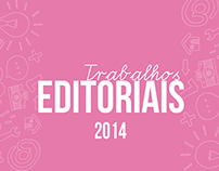 Trabalhos Editoriais - 2014
