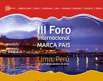 III Foro Internacional Marca País - Perú