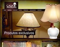 Site e CRM - Casa das Pantalhas
