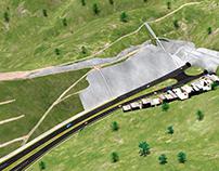 Tunel Boyaca-La Guaira lado oeste