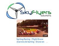 karting Racing - Flight Drone