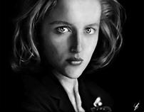 Dana Scully - Digital Art