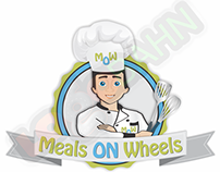 LOGO AND CHARACTER DESIGN for Meals on Wheels from