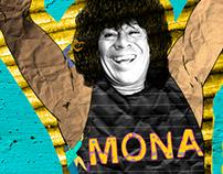 Branding La mona Jimenez
