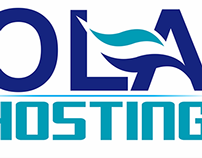 Logo Design For OlaHosting.com.ve