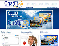 Sitio Web Onatur
